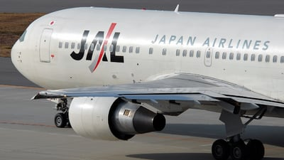 JA8231 - Boeing 767-246 - Japan Airlines (JAL)