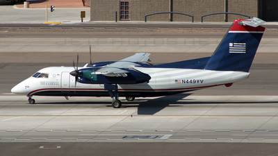 N449YV - Bombardier Dash 8-Q202 - US Airways Express (Mesa Airlines)