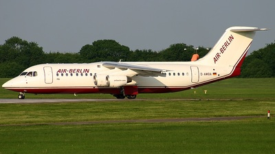 D-AWBA - British Aerospace BAe 146-300 - Air Berlin