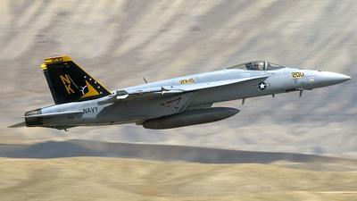 165781 - Boeing F/A-18E Super Hornet - United States - US Navy (USN)