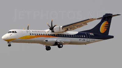 VT-JCB - ATR 72-212A(500) - Jet Airways