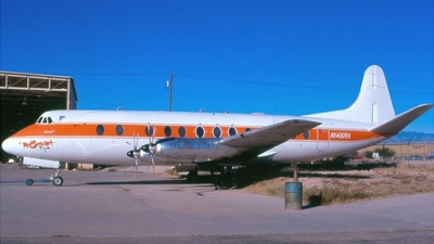 N145RA - Vickers Viscount 814 - Go Air