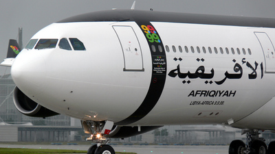 5A-ONE - Airbus A340-213 - Afriqiyah Airways