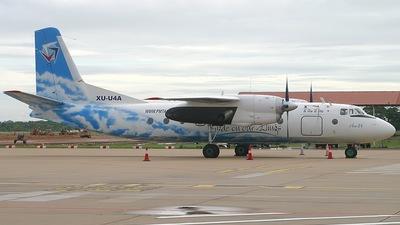XU-U4A - Antonov An-24B - PMTAir - Cambodian Airlines