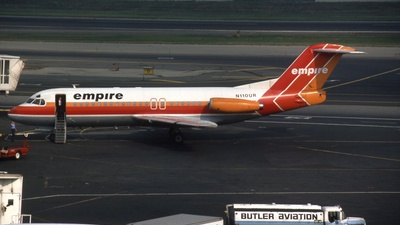 N110UR - Fokker F28-4000 Fellowship - Empire Airlines