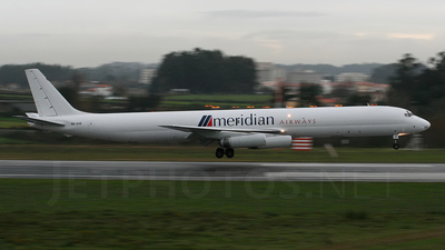 9G-AXE - Douglas DC-8-63(F) - Meridian Airways