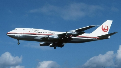 JA8166 - Boeing 747-346 - Japan Airlines (JAL)