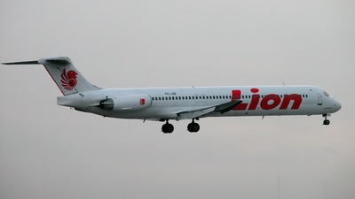 PK-LMK - McDonnell Douglas MD-83 - Lion Air