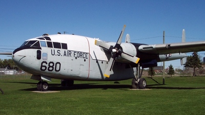 51-2680 - Fairchild C-119G Flying Boxcar - United States - US Air Force (USAF)