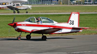 A picture of GAZOF - AESL Airtourer Super 150 - [A549] - © Phil Woods