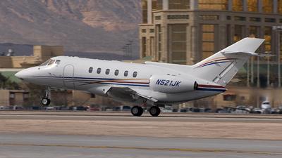 A picture of N521JK - Hawker 800 - [258262] - © Jack Tasker