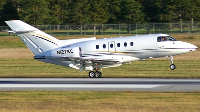 N127KC - Raytheon Hawker 800XP - Private