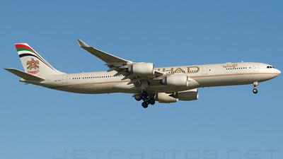 A6-EHC - Airbus A340-541 - Etihad Airways