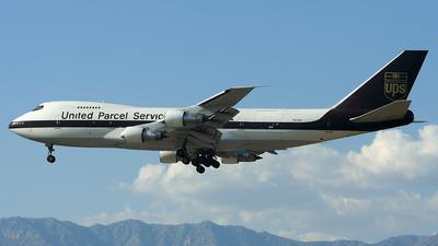 N522UP - Boeing 747-212B(SF) - United Parcel Service (UPS)