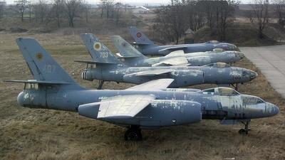 407 - Ilyushin IL-28 Beagle - Romania - Air Force