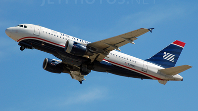 N755US - Airbus A319-112 - US Airways