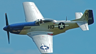 G-BIXL - North American P-51D Mustang - Private