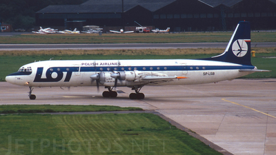 SP-LSB - Ilyushin IL-18V - LOT Polish Airlines
