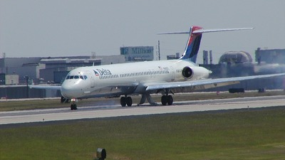 N963DL - McDonnell Douglas MD-88 - Delta Air Lines