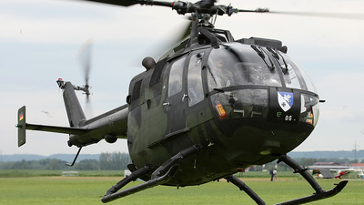 87-06 - MBB Bo105P1 - Germany - Army