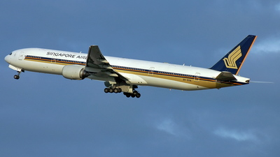 9V-SYA - Boeing 777-312 - Singapore Airlines