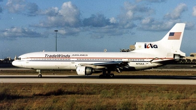 N75AA - Lockheed L-1011-200 Tristar - TradeWinds Airlines