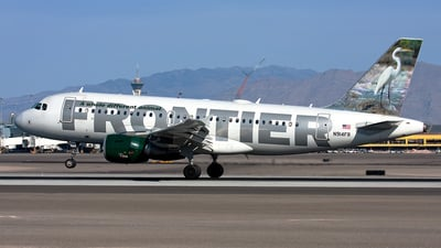 N914FR - Airbus A319-111 - Frontier Airlines