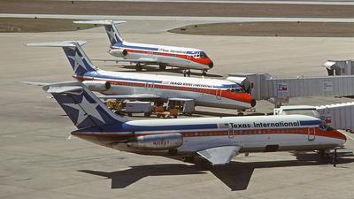N1053T - McDonnell Douglas DC-9-14 - Texas International Airlines