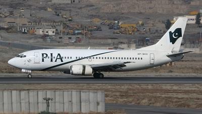AP-BCC - Boeing 737-340 - Pakistan International Airlines (PIA)