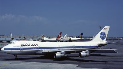 N725PA - Boeing 747-132(M) - Pan Am