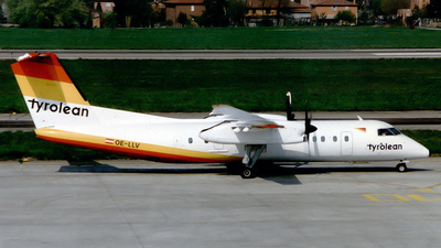 OE-LLV - Bombardier Dash 8-314 - Tyrolean Airways
