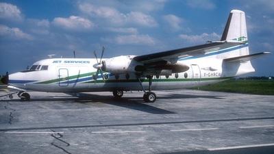 F-GHRC - Fokker F27-500 Friendship - Air Jet
