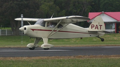 ZK-PAT - Piper PA-22-150 Tri-Pacer - Ardmore Taildraggers