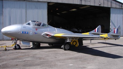 G-DHZZ - De Havilland Vampire T.55 - Private