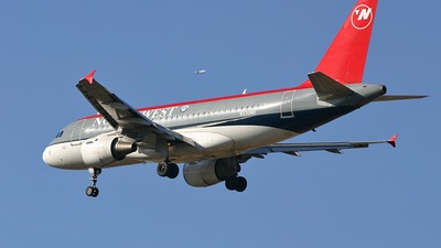N330NB - Airbus A319-114 - Northwest Airlines