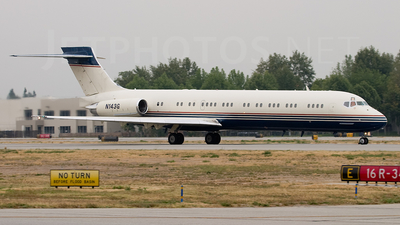 N143G - McDonnell Douglas MD-87 - Private