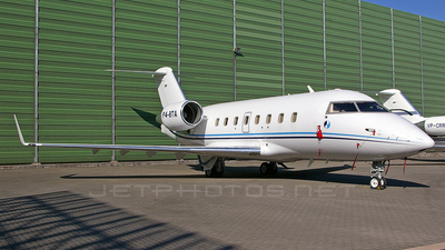 P4-BTA - Bombardier CL-600-2B16 Challenger 604 - Private