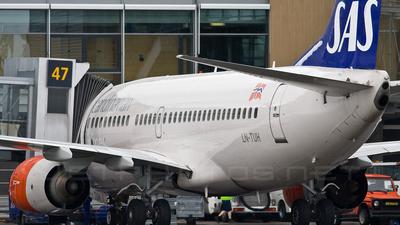 LN-TUH - Boeing 737-705 - SAS Norge