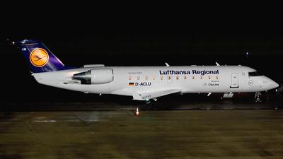 D-ACLU - Bombardier CRJ-100LR - Lufthansa Regional (CityLine)