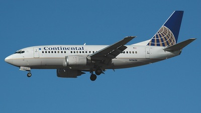 N11656 - Boeing 737-524 - Continental Airlines