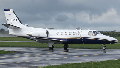 G-CGEI - Cessna 550B Citation Bravo - Private