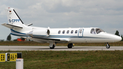 D-CPPP - Cessna 550B Citation Bravo - Windrose Air