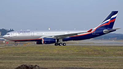 F-WWYJ - Airbus A330-243 - Aeroflot