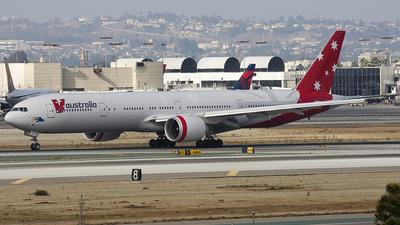 VH-VPE - Boeing 777-3ZGER - V Australia Airlines