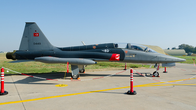 0449 - Northrop F-5B Freedom Fighter - Turkey - Air Force