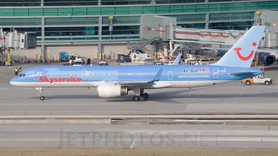C-FLEU - Boeing 757-236 - Skyservice Airlines