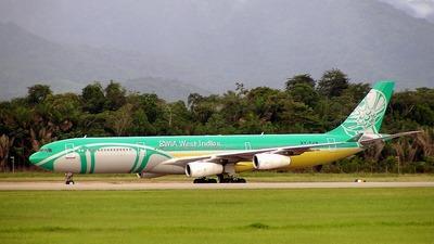 9Y-TJN - Airbus A340-313 - BWIA West Indies Airways