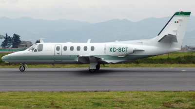 XC-SCT - Cessna 550 Citation II - Mexico - Government