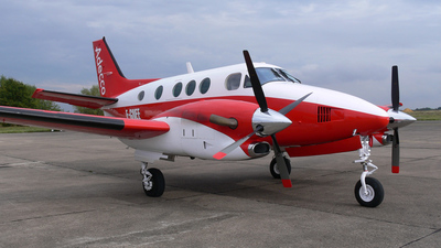 F-GNEE - Beechcraft C90B King Air - Avion Ecco