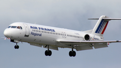 F-GPNL - Fokker 100 - Air France (Régional Compagnie Aerienne)